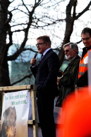 Demo Stuttgart Guido Wolf