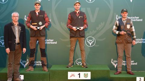 Sieger, Kombination, Junioren: 1) Daniel Deters (Niedersachsen), 2) Matthias Avenriep (Niedersachsen), 3) Jan-Ole Petersen (Schleswig-Holstein)