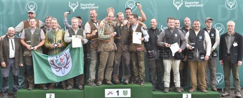 Sieger, Mannschaft, Offene Klasse: 1) Rheinland-Pfalz, 2) Nordrhein-Westfalen, 3) Freistaat Thüringen